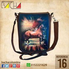 #Bolso Equino 16 #CUERO Con acolchado interno Grande 26x23x7cm Mediano 22x19x7cm
