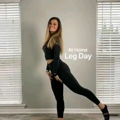 Leg Workout At Home, Gym Workout Tips, Fitness Workout For Women, Fit Board Workouts, Butt Workout, Daily Workout Schedule, Kundalini Yoga Poses, Thigh Exercises, Pregnancy Workout