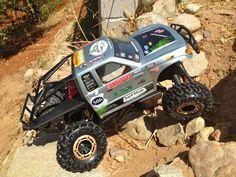 Rc Car Buggy Truck 1/10 Scale Custom Crawler 4×4 4ws 2.4ghz Honcho MOA Axial RTR