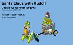 LEGO WeDO 2.0 Santa Claus with Rudolph by Yoshihito Isogawa