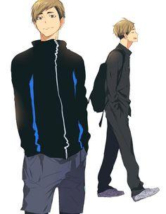 Atsumu Miya is a second year setter at Inarizaki High School who was invited to the All-Japan Youth Intensive Training Camp with Kageyama. He is the twin brother of Osamu Miya. Oikawa, Kagehina, Kuroo, Anime Manga, Anime Guys, Shimizu Kiyoko, Miya Atsumu, Chibi, Yaoi Hard