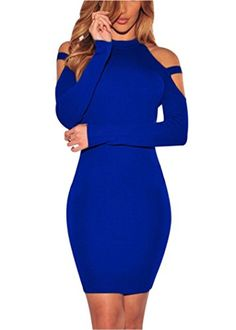 """Special Offer: $16.99 amazon.com """"Size Chart: S: Bust:31.50″ Waist:25.98″ Hips:33.07″ Length:34.65″ M: Bust:33.07″ Waist:27.56″ Hips:34.65″ Length:35.43″ L: Bust:34.65″ Waist:29.13″ Hips:36.22″ Length:36.22″ XL:..."""