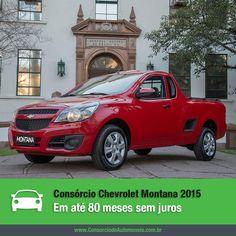Saiba tudo sobre a nova Chevrolet Montana 2015. Acesse: https://www.consorciodeautomoveis.com.br/noticias/chevrolet-montana-2015-em-ate-80-meses-sem-juros?idcampanha=206&utm_source=Pinterest&utm_medium=Perfil&utm_campaign=redessociais