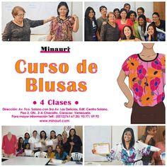 Curso Profesional de Blusas para Damas!! www.minauri.com