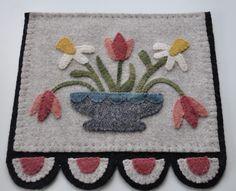 Wool Flower Runner Design