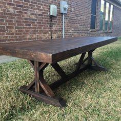Farmhouse Dining Table 7ft