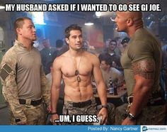 Umm.... yeah! Channing Tatum is in it ;)  he'll to the yes