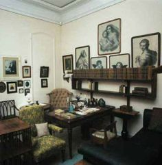 Leo Tolstoy's study in his Yasnaya Polyana estate nowadays. #Leo_Tolstoy