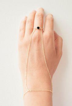 Two-in-one Finger bracelet, Cross Slave bracelet Man Repeller Leandra Medine Inspired Arm party bracelet on Etsy, $37.00