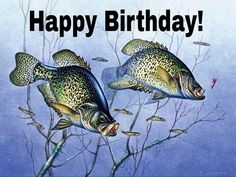 Happy Birthday for your fishing buddies