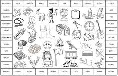 Gra planszowa z głoską [g] - mowa bezdźwięczna, gammacyzm - terapia logopedyczna. Plik do pobrania i wydruku. Speech And Language, Therapy, Education, Logos, Decor, Speech Language Therapy, Decoration, Logo, Languages