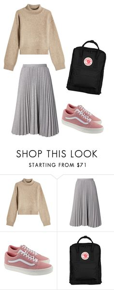 """School outfit"" by indrasavje01 on Polyvore featuring Rejina Pyo, Vans and Fjällräven"