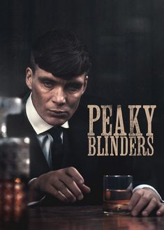 Cillian Murphy as Thomas Shelby in Peaky Blinders ♾