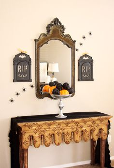 Dollar Store Halloween Decor for the Minimalist