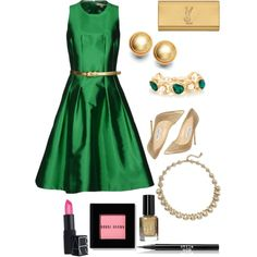 Emerald & Gold: sparkle with elegance