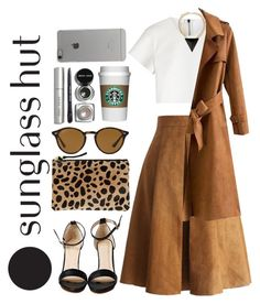 """Celebrate in Every Shade with Sunglass Hut: Contest Entry"" by zulfastley ❤ liked on Polyvore featuring Neil Barrett, Chicwish, Clare V., Incase, Bobbi Brown Cosmetics, Chicnova Fashion and Ray-Ban"