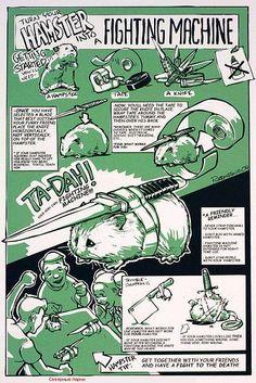 Hamster Fighting Machine