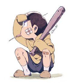おそ松さん Osomatsu-san 左手には金属バット