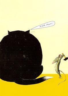 Mice revenge by Wolf Erlbruch