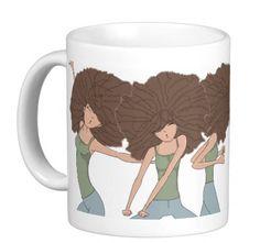 Tall N Curly - In da club cute #mug ! #tallncurly #curlyhairproblems tallncurly.com