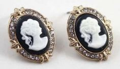 Closeout - Cameo Portrait Earrings $3.99 - http://www.pinchingyourpennies.com/closeout-cameo-portrait-earrings-3-99/ #Caemo, #Earrings, #Pinchingyourpennies