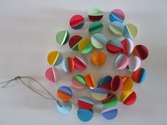 Gum Drops  Paper Garland by futtatinni on Etsy, $10.00