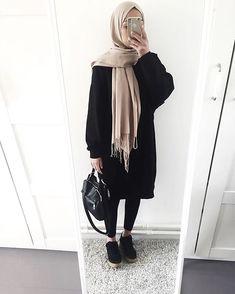 Fashion hijab hijab fashion in 2019 хиджаб шик, мода на хиджабы, Hijab Casual, Casual Outfits, Casual Chic, Muslim Fashion, Modest Fashion, Hijab Fashion, Trendy Fashion, Fashion Outfits, Fashion Wear