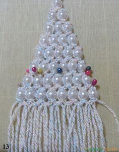 плетение елочки