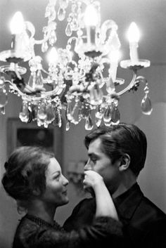Alain Delon and Romy Schneider | Shop the BEST from Past Collections. Based in Paris, we ship globally. RESEE.com |