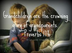 Grandchildren Are The Crowning Glory Of Grandparents Quotes For Kids On Grandparents Day Bible Quotes, Bible Verses, Scriptures, Nana Quotes, Qoutes, Happy Grandparents Day, Grandparents Rights, Grandma And Grandpa, Grandparent Gifts