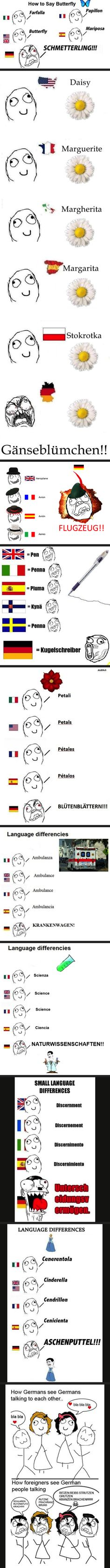 I tried to read the german parts without shouting. I was unsuccessful.