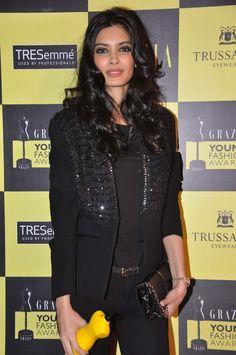 Diana Penty at Grazia Young Awards 2013.