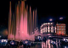 A magic evening at the Vienna #Hochstrahlbrunnen