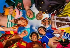 One piece cosplay. MCM 2014