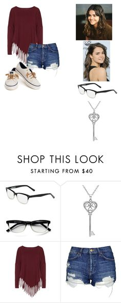 """""""~dsffds~~"""" by kawiwi on Polyvore featuring Corinne McCormack, Amanda Rose Collection, Boris, Topshop and Sperry"""