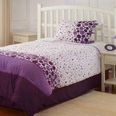 Purple Polka Dots Comforter