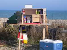 Mess Box - Camp kitchen on the beach: Cooking on the beach has never been so cool