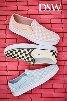 These extra-fresh sneakers make even running errands look cool. Cute Vans, Cute Shoes, Me Too Shoes, Vans Shoes, Shoes Sneakers, Air Force One, Streetwear, Baskets, Grunge