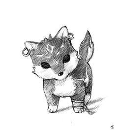 The Legend of Zelda: Twilight Princess - Puppy Wolf Link