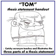 tom thesis Thesis builder playlist: tech tools 1  tom march :: thesis builder - the original persuasive essay maker 8 intervue  thesis builder - the original persuasive.