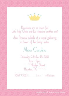"""Photo 9 of 12: Princess / Baby Shower/Sip & See """"Princesses are so much fun!"""" 