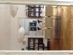 Cuisine et salle à manger ouvertes renovées dans un appartement ancien!
