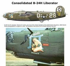 B-24 Liberator Aviones Segunda Guerra Mundial, Aviones Militares, Fotografia, Fotografía, Aviones