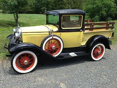 Ford : Model A Pick up body 1930 Model A Ford Pickup truck. Vintage Ford, Real steel. Side mount spare. - http://www.legendaryfind.com/carsforsale/ford-model-a-pick-up-body-1930-model-a-ford-pickup-truck-vintage-ford-real-steel-side-mount-spare/