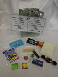 Hangover Day after Wedding - Night out Survival Kit - Novelty Fun Keepsake Gift
