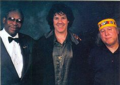 B.B., Gary Moore and Peter Green