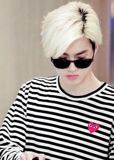 suho blonde hair | EXO| Suho (Kim Joon Myeon)