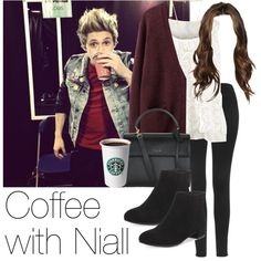 REQUESTED: Coffee with Niall by style-with-one-direction on Polyvore featuring moda, Acne Studios, Topshop, Yves Saint Laurent, Gorjana, CAbi, OneDirection, 1d, NiallHoran and niall horan one direction 1d