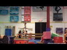 New Gymnastics Skills In 2014 New Annie Liv Routine Simply liv