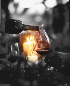 Enjoy wine and quiet evenings